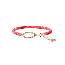 Gold point bracelet