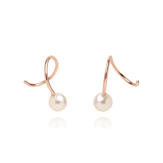 【SILVER925】Mini Wave Pearl