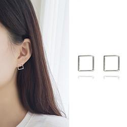 【SILVER925】Square_line