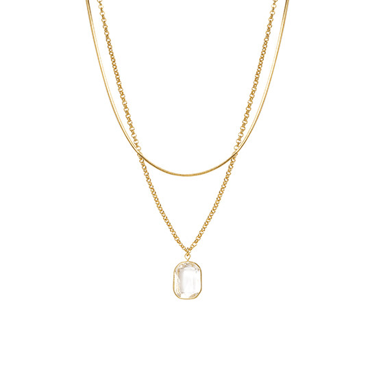 Clear Crystal Gold