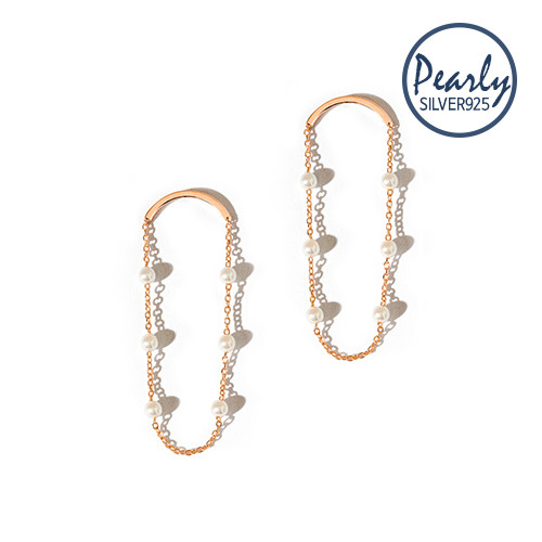 【SILVER925】Pearly Long