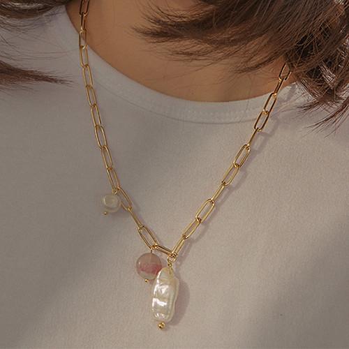 [14kメッキ] Royal Gold Necklace