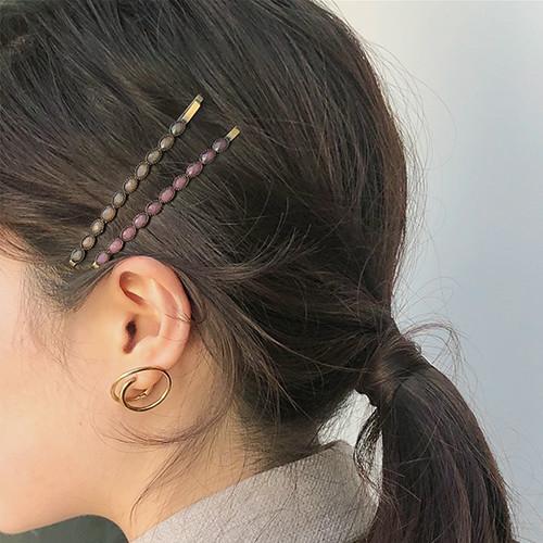 Garnet Hairpin