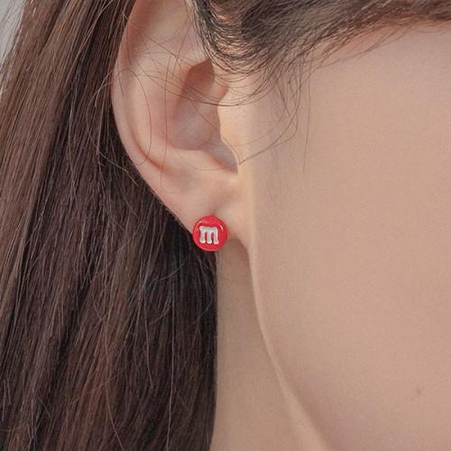 【SILVER925】Chocolate on my ear