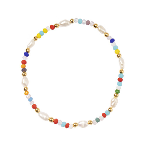 Color Pearl Bracelet